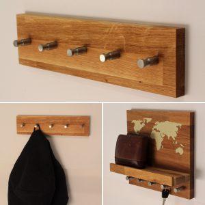 Garderobe mit passendem Schlüsselbrett