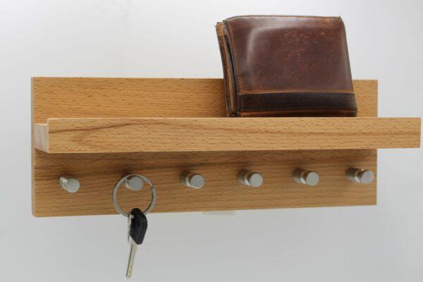 Schlüsselboard Kernbuche L