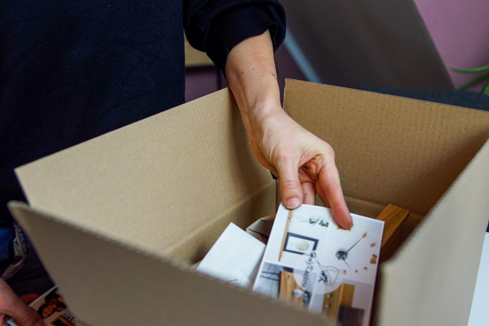 Onlineshop für Möbel mit Recyclingverpackung