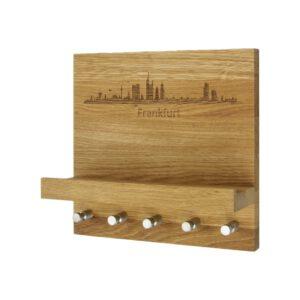 Schlüsselboard mit Skylinemotiv von deiner Wunschstadt