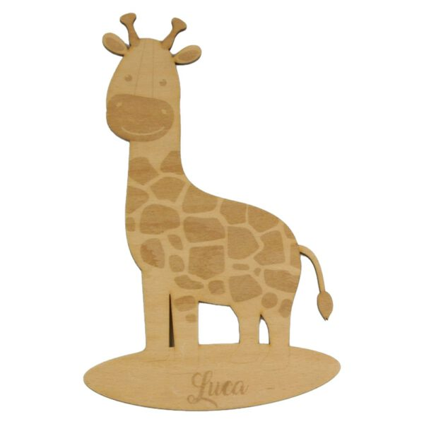 Türschild Kinderzimmer Giraffe