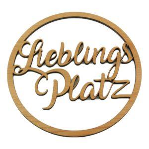 Holzkranz Lieblingsplatz